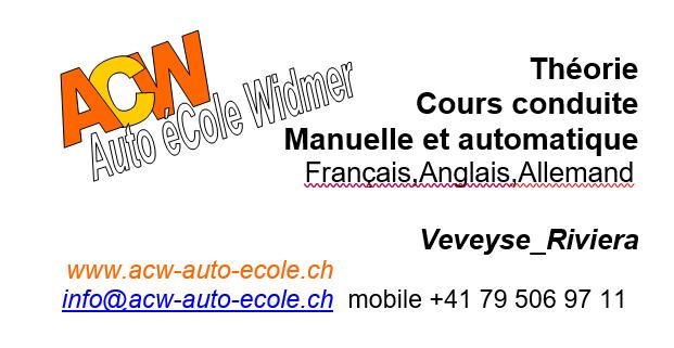 Auto Ecole Widmer