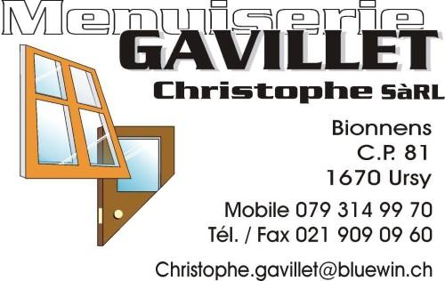 Menuiserie Gavillet